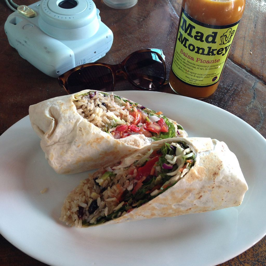 """Photo of Cafe Mono Congo  by <a href=""""/members/profile/Shxylah"""">Shxylah</a> <br/>mouthwatering vegan burrito ! <br/> April 26, 2017  - <a href='/contact/abuse/image/67920/252763'>Report</a>"""