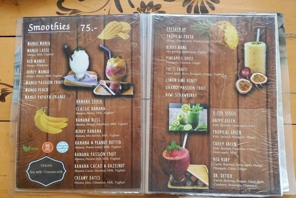 "Photo of Fruit Pulse Juice Bar  by <a href=""/members/profile/Mike%20Munsie"">Mike Munsie</a> <br/>menu 5 <br/> June 3, 2017  - <a href='/contact/abuse/image/67938/265262'>Report</a>"
