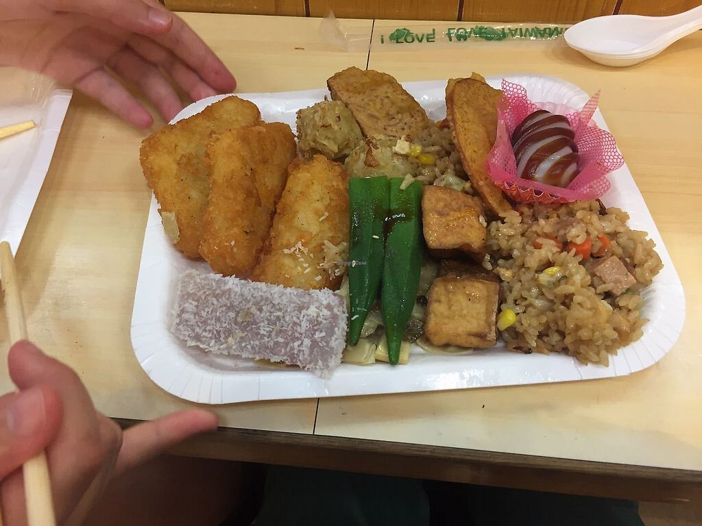"""Photo of Yao Tsih Su Shih Buffet  by <a href=""""/members/profile/FlokiTheCat"""" class=""""title__title"""">FlokiTheCat</a> <br/>Sweet and savory plate <br/> July 31, 2017  - <a href='/contact/abuse/image/6793/287087'>Report</a>"""