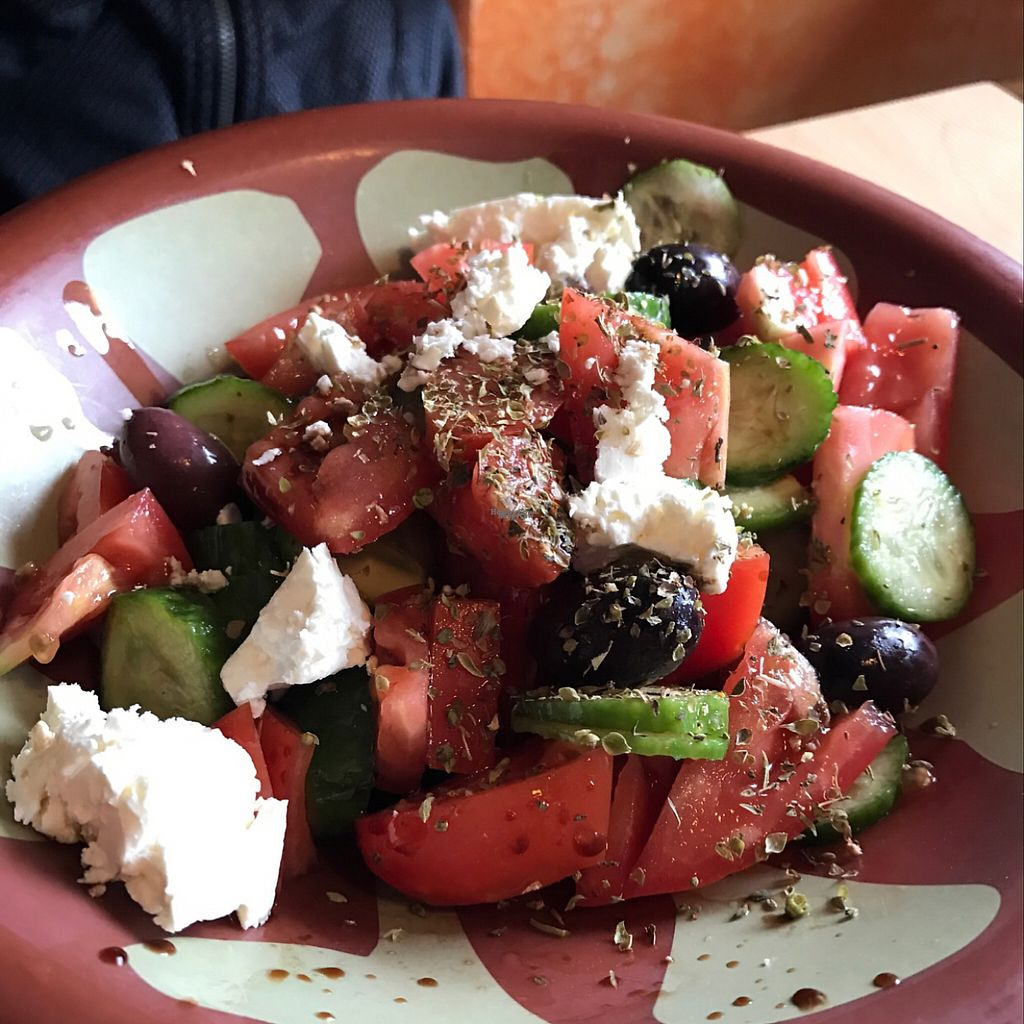 """Photo of Paprika Cafe  by <a href=""""/members/profile/Aspen"""">Aspen</a> <br/>Greek Salad  <br/> January 4, 2017  - <a href='/contact/abuse/image/67958/208174'>Report</a>"""
