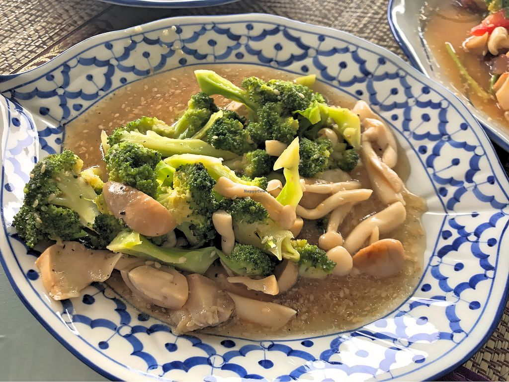 """Photo of 108 Vegetarian Cuisine  by <a href=""""/members/profile/SoniaGivray"""">SoniaGivray</a> <br/>Stir fried brócoli  <br/> September 14, 2017  - <a href='/contact/abuse/image/67962/304158'>Report</a>"""