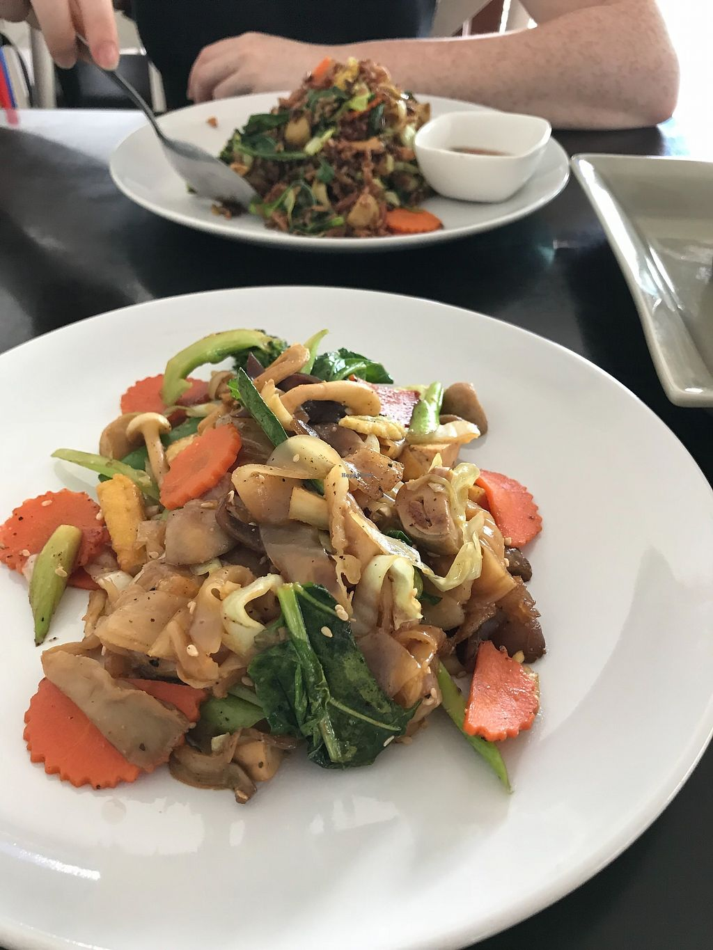 """Photo of 108 Vegetarian Cuisine  by <a href=""""/members/profile/Hulahoopingvegan"""">Hulahoopingvegan</a> <br/>Noodle dish <br/> November 29, 2017  - <a href='/contact/abuse/image/67962/330327'>Report</a>"""