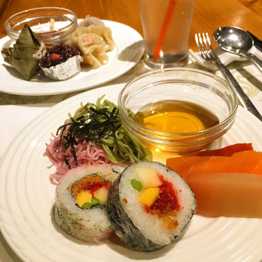 "Photo of Lian Siang Jhai Su Tsai - Jen Dow Vegetarian  by <a href=""/members/profile/JudyK"">JudyK</a> <br/>sushi <br/> January 22, 2016  - <a href='/contact/abuse/image/6796/133292'>Report</a>"