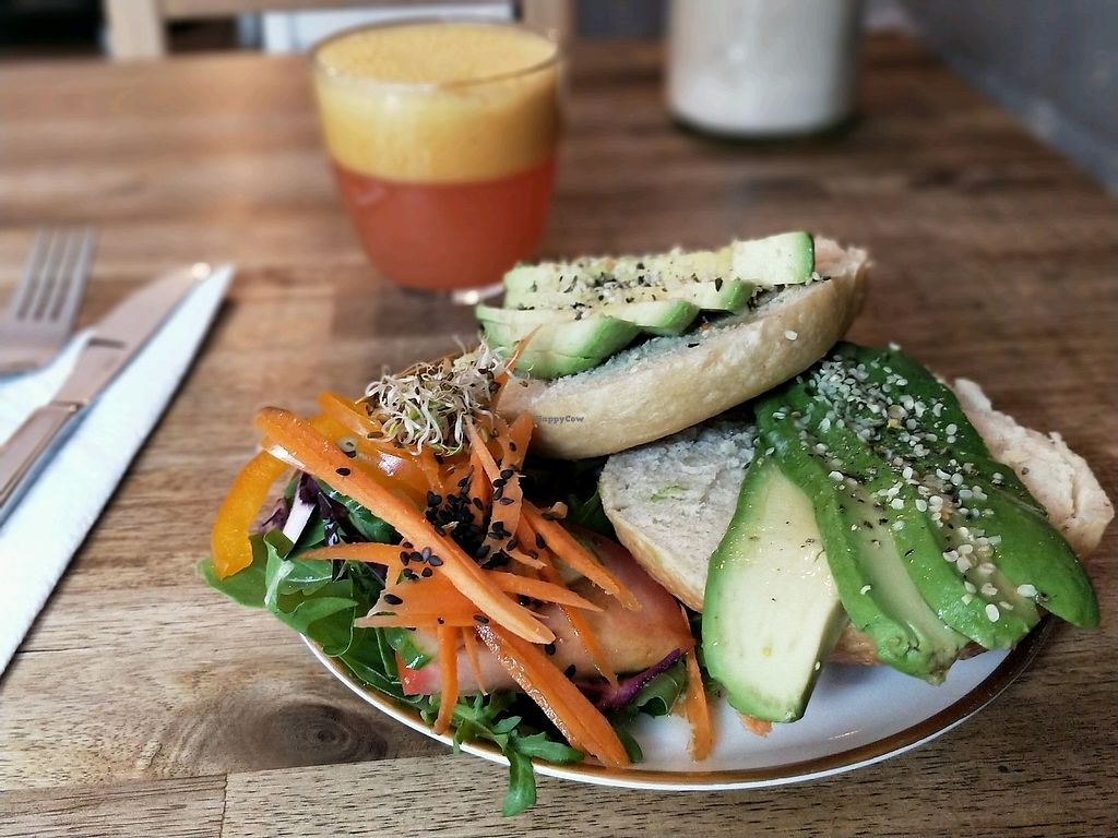"Photo of Black Sheep Cafe  by <a href=""/members/profile/SaraMagnusson"">SaraMagnusson</a> <br/>Bagels with avocado <br/> September 17, 2017  - <a href='/contact/abuse/image/67984/305381'>Report</a>"