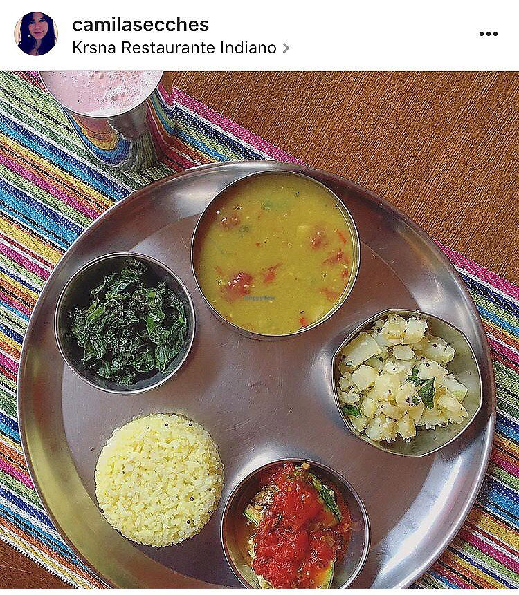 "Photo of Krsna  by <a href=""/members/profile/camilasecches"">camilasecches</a> <br/>prato vegano do dia <br/> August 13, 2017  - <a href='/contact/abuse/image/67988/292170'>Report</a>"