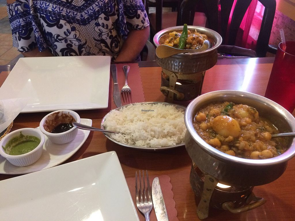 "Photo of Royal India  by <a href=""/members/profile/Mike%20Silver"">Mike Silver</a> <br/>aloo gobi and chhole aloo <br/> August 12, 2017  - <a href='/contact/abuse/image/68020/292001'>Report</a>"