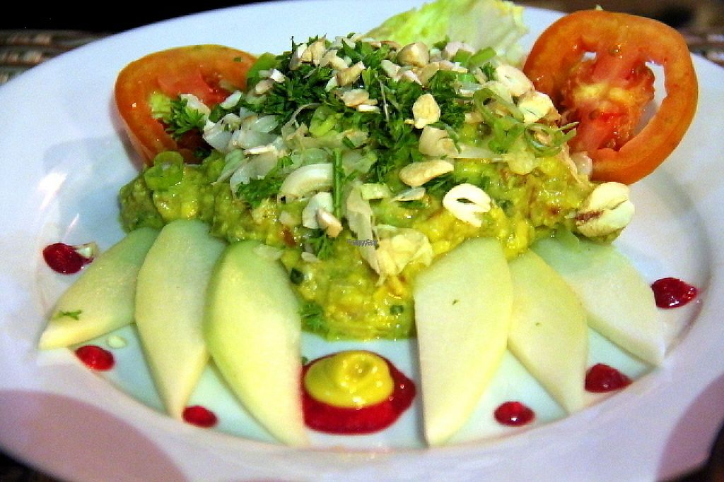 """Photo of The Mexican Kitchen  by <a href=""""/members/profile/reissausta%20ja%20ruokaa"""">reissausta ja ruokaa</a> <br/>Guacamole salad with nuts (raw).  <br/> November 23, 2016  - <a href='/contact/abuse/image/68024/193571'>Report</a>"""