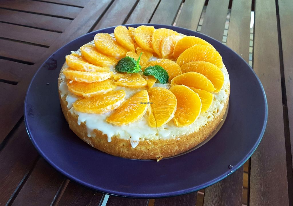 """Photo of Dalai Cafe  by <a href=""""/members/profile/AmaurySiemReap"""">AmaurySiemReap</a> <br/>Orange cake <br/> January 10, 2016  - <a href='/contact/abuse/image/68025/131819'>Report</a>"""