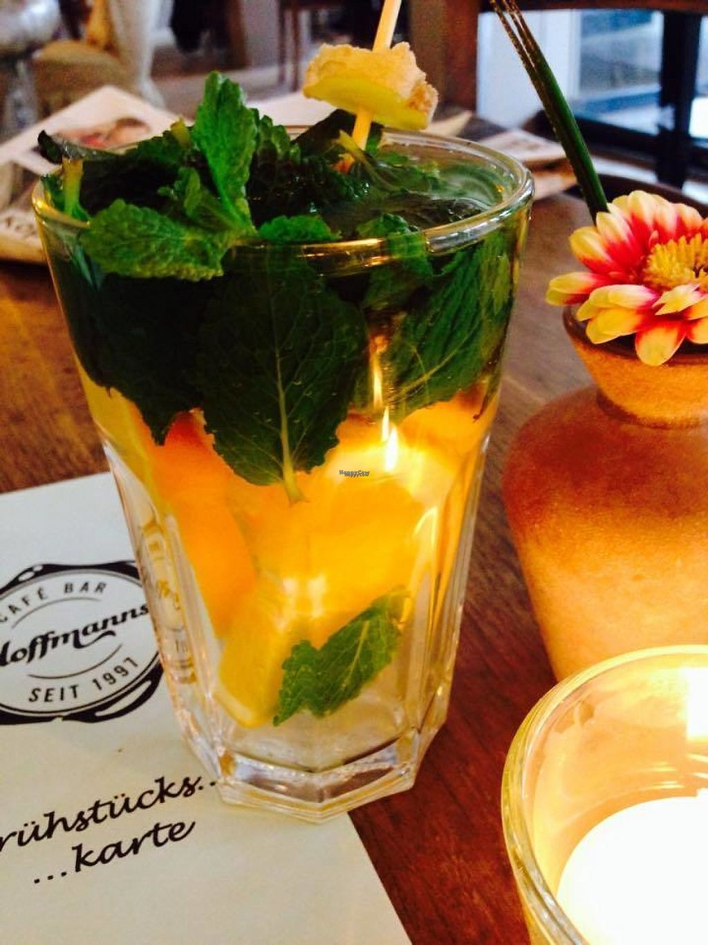 """Photo of Hoffmann's Cafe  by <a href=""""/members/profile/community"""">community</a> <br/>Fresh Drinks <br/> March 10, 2017  - <a href='/contact/abuse/image/68049/234900'>Report</a>"""