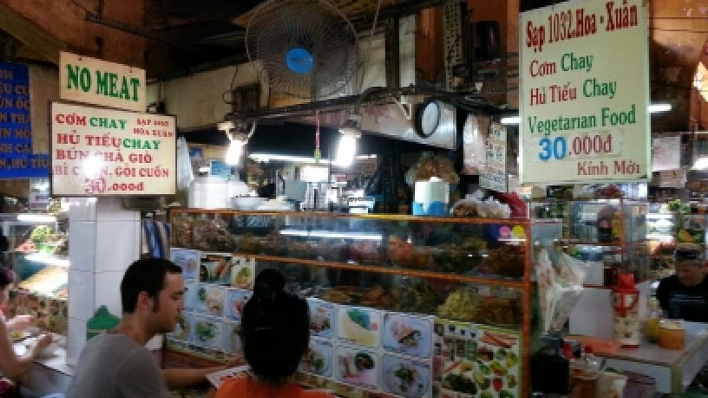 """Photo of Hoa-Xuan Food Stall at Ben Thanh Market  by <a href=""""/members/profile/KarinS"""">KarinS</a> <br/>The 'restaurant' <br/> January 8, 2016  - <a href='/contact/abuse/image/68074/131524'>Report</a>"""