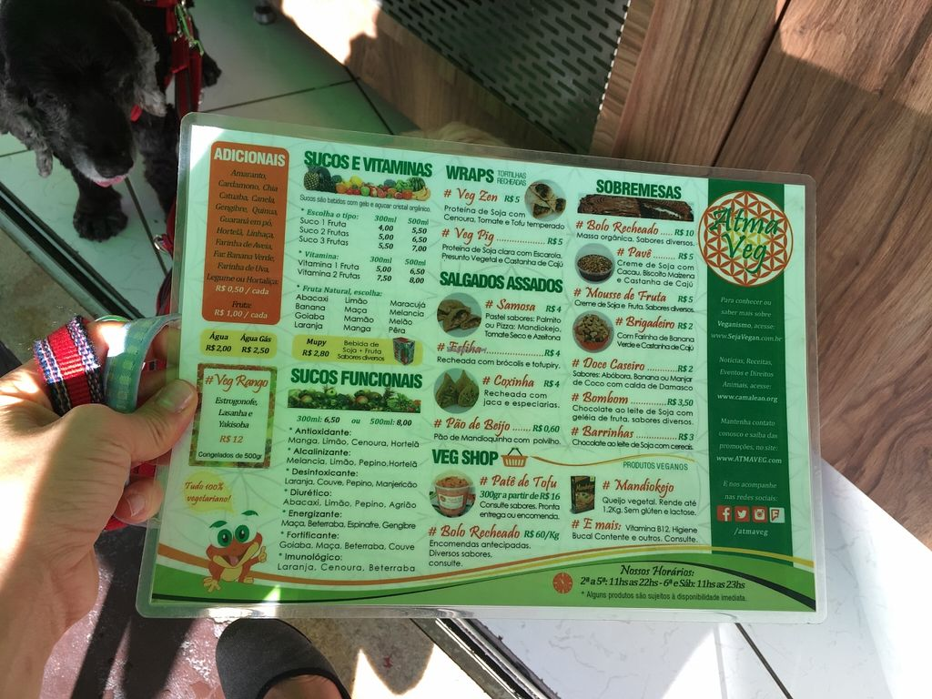 """Photo of Atma Veg  by <a href=""""/members/profile/Paolla"""">Paolla</a> <br/>Menu <br/> January 9, 2016  - <a href='/contact/abuse/image/68076/131685'>Report</a>"""