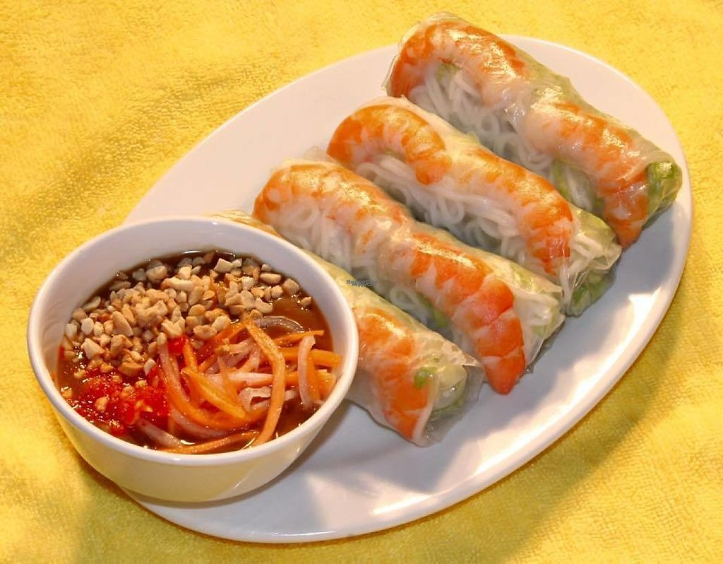 """Photo of Harmony Vietnamese Cuisine  by <a href=""""/members/profile/community"""">community</a> <br/>Rice Paper Rolls <br/> March 10, 2017  - <a href='/contact/abuse/image/68111/234792'>Report</a>"""