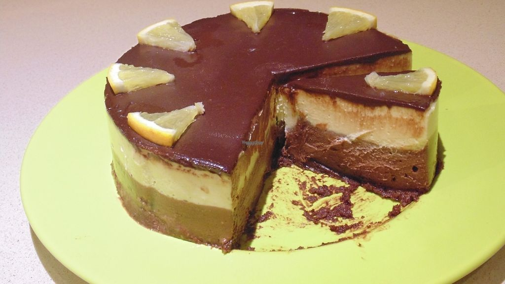"""Photo of Jo's Delights  by <a href=""""/members/profile/Jo%27sDelights"""">Jo'sDelights</a> <br/>Layered Chocolate Orange Gateaux <br/> March 3, 2017  - <a href='/contact/abuse/image/68122/232267'>Report</a>"""