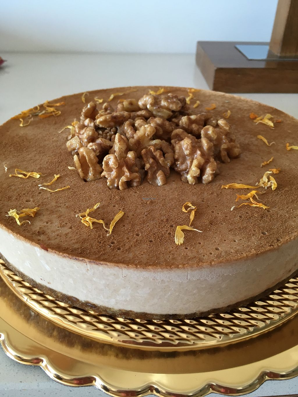 """Photo of Jo's Delights  by <a href=""""/members/profile/monisonfire"""">monisonfire</a> <br/>cinnamon & candied walnut cake <br/> January 7, 2018  - <a href='/contact/abuse/image/68122/344065'>Report</a>"""