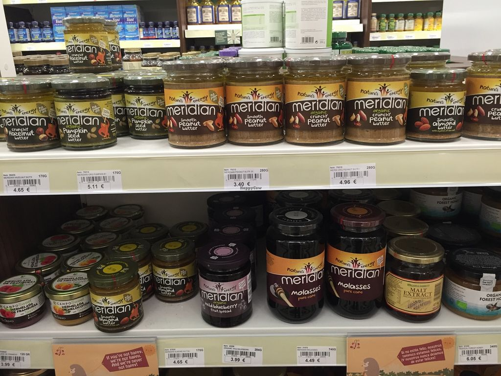 """Photo of Holland and Barrett  by <a href=""""/members/profile/Margieeatsveggies"""">Margieeatsveggies</a> <br/>Nut butters! No oil, salt or sugar! <br/> April 23, 2016  - <a href='/contact/abuse/image/68123/145878'>Report</a>"""