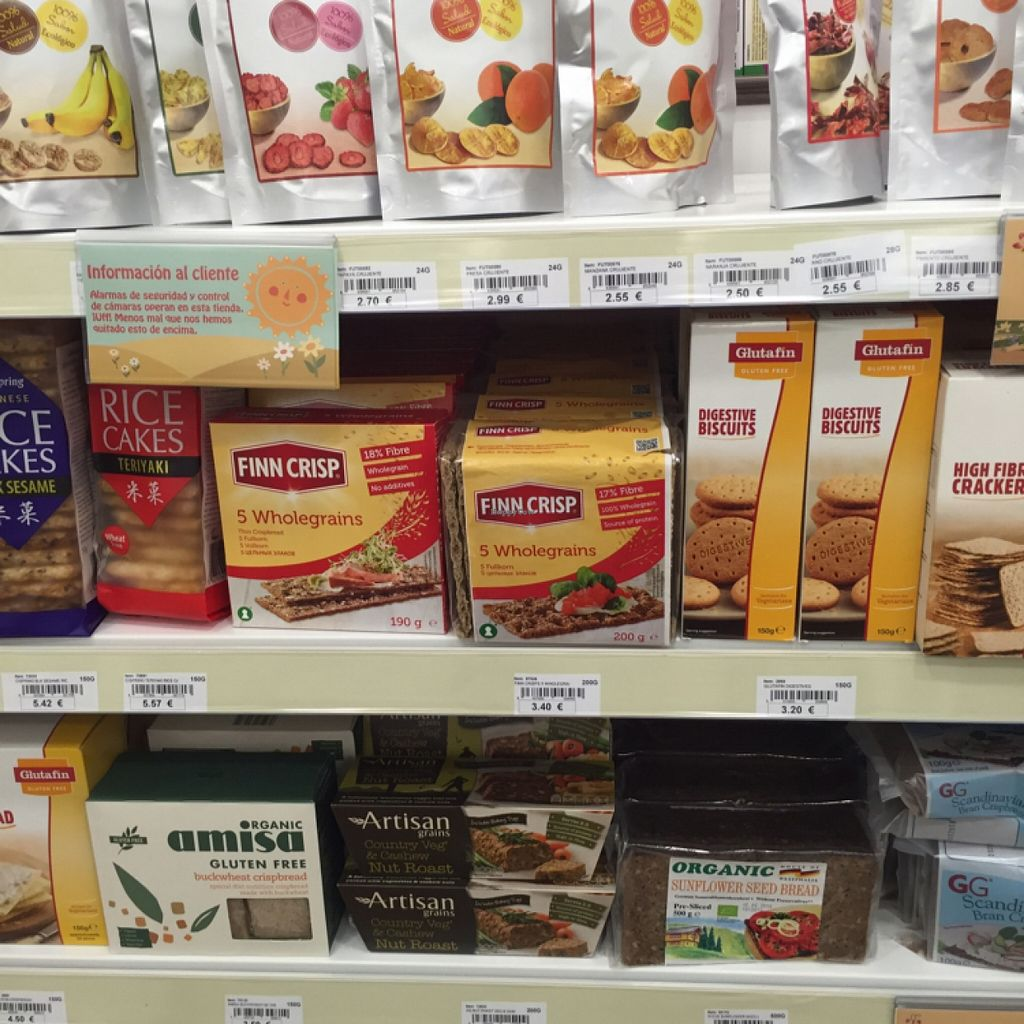 """Photo of Holland and Barrett  by <a href=""""/members/profile/Margieeatsveggies"""">Margieeatsveggies</a> <br/>alternative crackers and such <br/> April 24, 2016  - <a href='/contact/abuse/image/68123/145969'>Report</a>"""