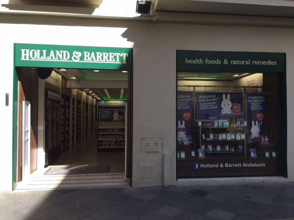 """Photo of Holland and Barrett  by <a href=""""/members/profile/Margieeatsveggies"""">Margieeatsveggies</a> <br/>Entrance <br/> April 25, 2016  - <a href='/contact/abuse/image/68123/146234'>Report</a>"""