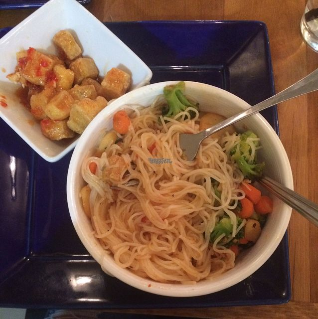 """Photo of Root  by <a href=""""/members/profile/FaithKelly"""">FaithKelly</a> <br/>Super yummy rice noodles & tofu <br/> October 18, 2016  - <a href='/contact/abuse/image/68124/182820'>Report</a>"""