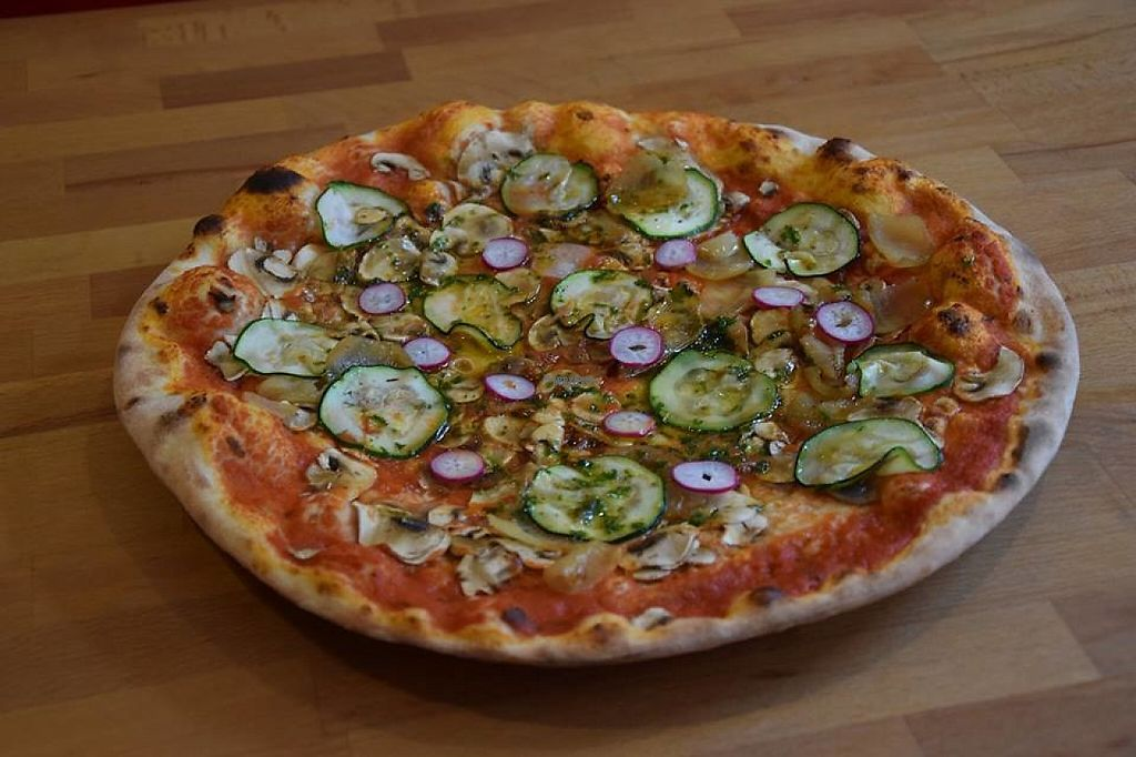 """Photo of Pizz & Styl'  by <a href=""""/members/profile/community"""">community</a> <br/>Vege Pizza <br/> March 17, 2017  - <a href='/contact/abuse/image/68127/237370'>Report</a>"""