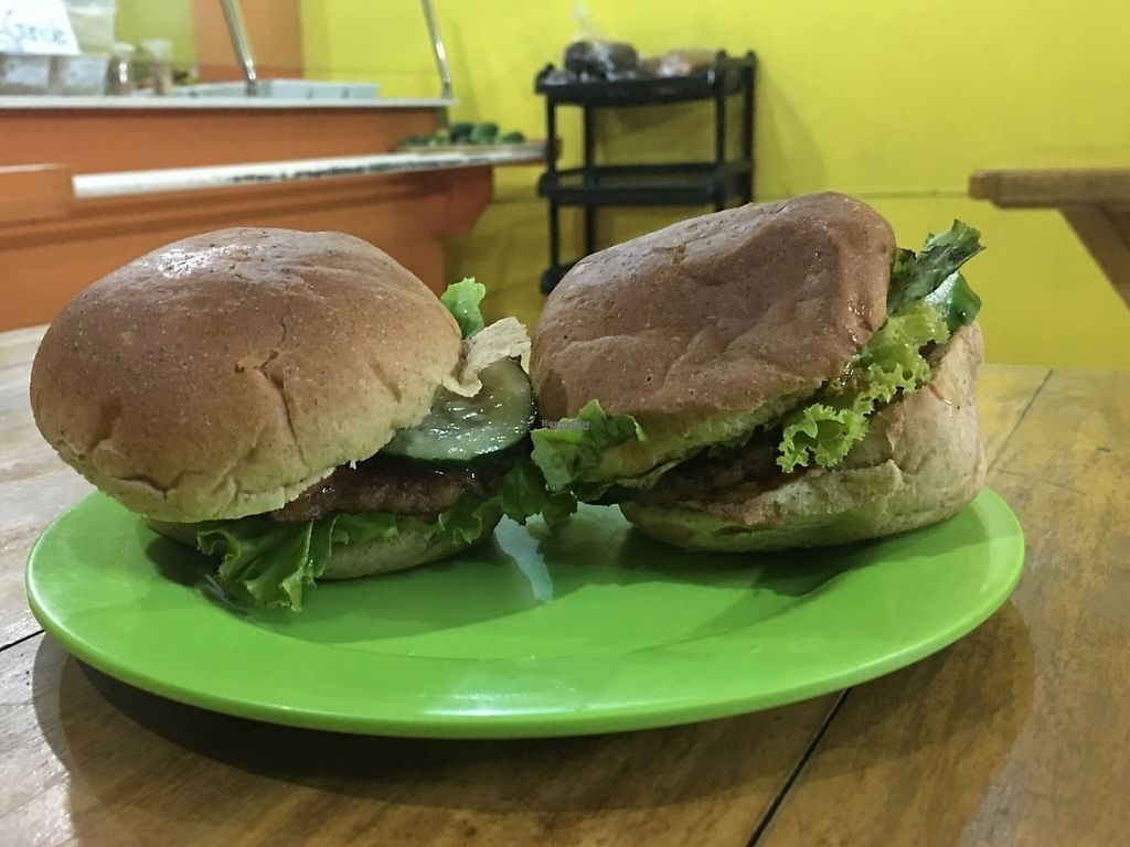 """Photo of Veggie Delight  by <a href=""""/members/profile/EminaYjjou"""">EminaYjjou</a> <br/>Whole wheat burgers <br/> February 3, 2017  - <a href='/contact/abuse/image/68145/221446'>Report</a>"""