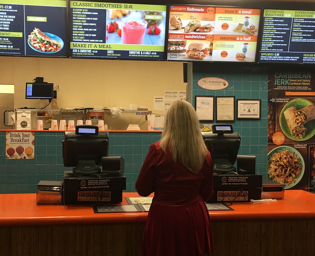 "Photo of Tropical Smoothie Cafe  by <a href=""/members/profile/Maddidelaney"">Maddidelaney</a> <br/>Front View <br/> August 24, 2016  - <a href='/contact/abuse/image/68146/207850'>Report</a>"
