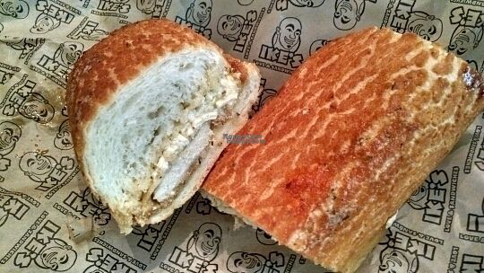 """Photo of Ike's - Downtown  by <a href=""""/members/profile/sandycv27"""">sandycv27</a> <br/>Vegan Handsome Owl on Dutch Crunch (without lettuce and tomato) <br/> September 5, 2016  - <a href='/contact/abuse/image/68197/173674'>Report</a>"""