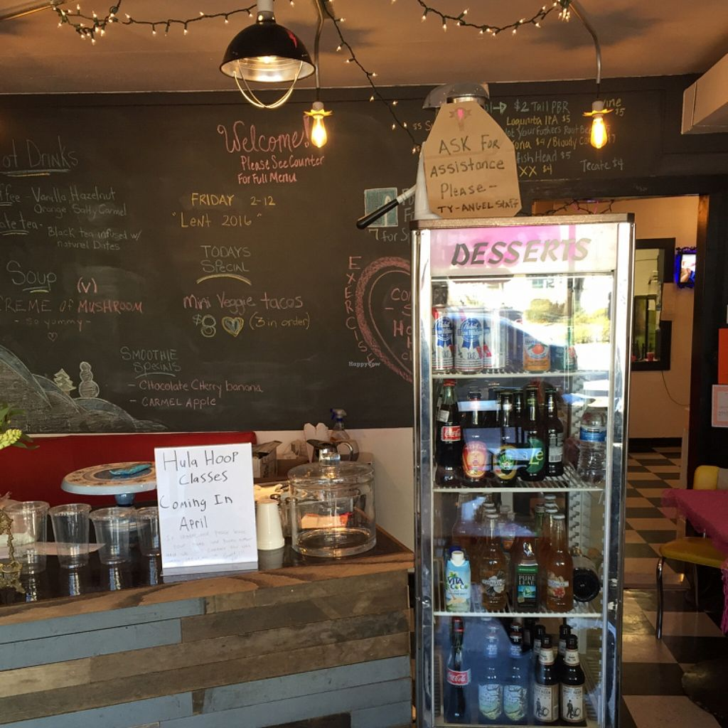 """Photo of Angel Hair Cafe/Salon  by <a href=""""/members/profile/happycowgirl"""">happycowgirl</a> <br/>order at counter <br/> February 13, 2016  - <a href='/contact/abuse/image/68233/136122'>Report</a>"""
