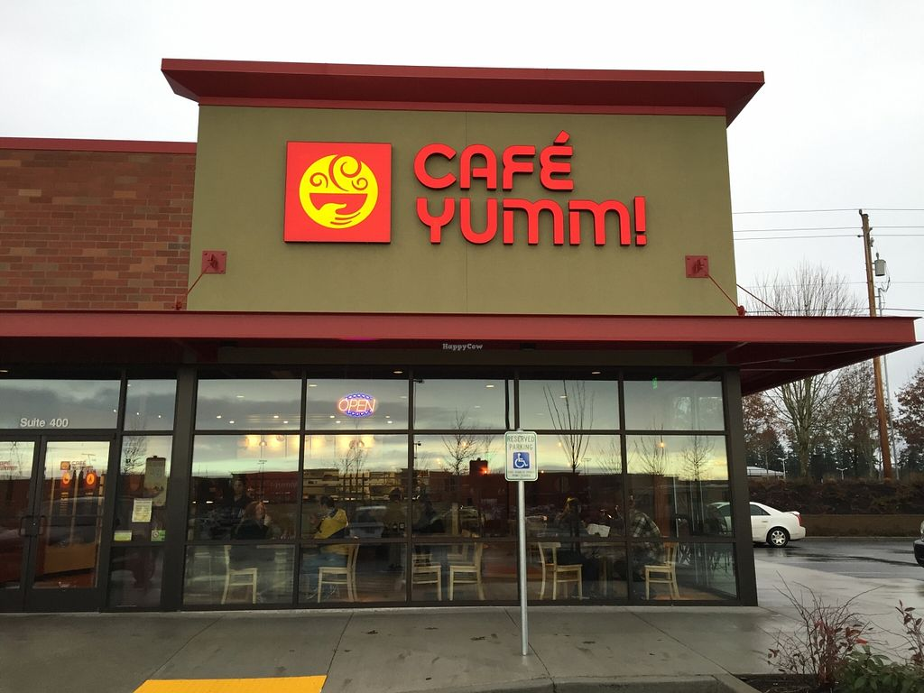 "Photo of Cafe Yumm - Mill Plain Crossing  by <a href=""/members/profile/notameat"">notameat</a> <br/>Front of Restaurant <br/> January 18, 2016  - <a href='/contact/abuse/image/68237/132932'>Report</a>"