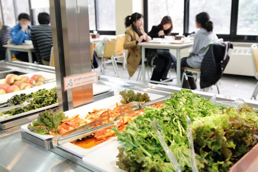 "Photo of Seoul National University Vegan Buffet - 서울대학교 채식뷔페  by <a href=""/members/profile/ItalianChick"">ItalianChick</a> <br/>SNU buffet <br/> January 12, 2016  - <a href='/contact/abuse/image/68241/132208'>Report</a>"