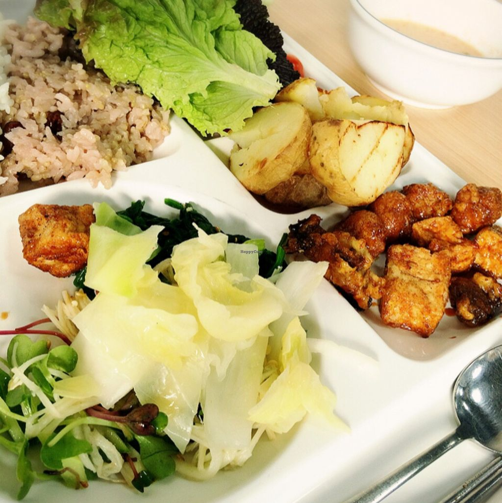 "Photo of Seoul National University Vegan Buffet - 서울대학교 채식뷔페  by <a href=""/members/profile/ItalianChick"">ItalianChick</a> <br/>Buffet <br/> January 27, 2016  - <a href='/contact/abuse/image/68241/133879'>Report</a>"