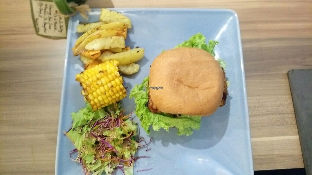 """Photo of Seeds Garden Bistro  by <a href=""""/members/profile/fguarachi"""">fguarachi</a> <br/>tempeh burger <br/> April 11, 2017  - <a href='/contact/abuse/image/68249/246896'>Report</a>"""