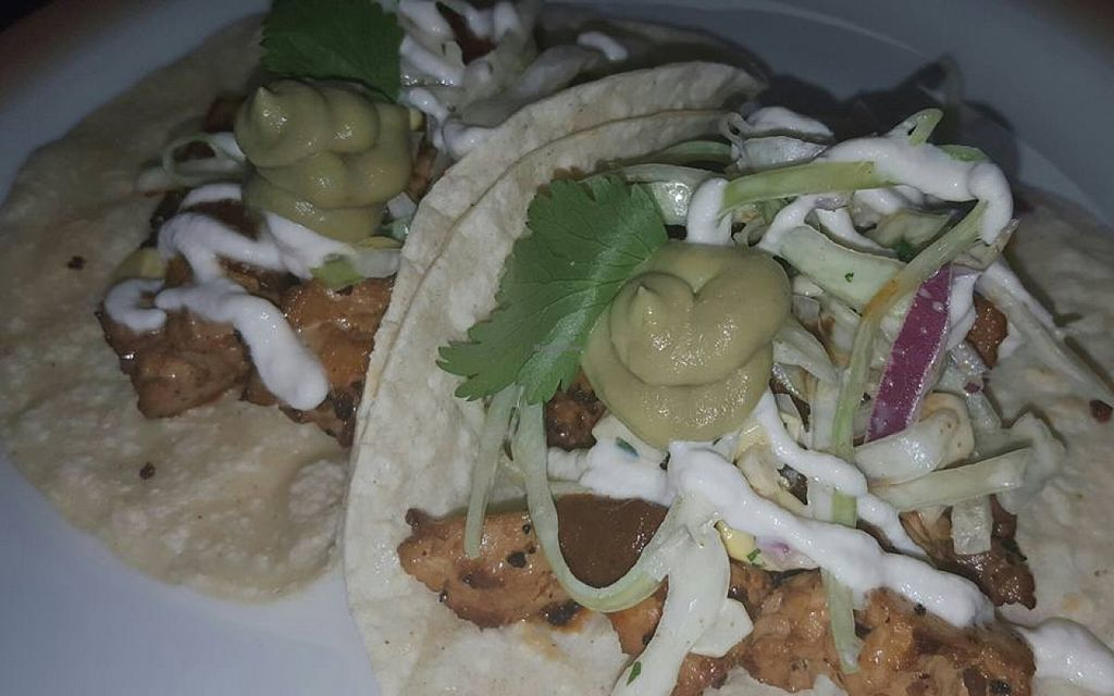 """Photo of Chive Kitchen  by <a href=""""/members/profile/lisaamitch"""">lisaamitch</a> <br/>Tofu Chicharrone Tacos <br/> January 12, 2016  - <a href='/contact/abuse/image/68260/132184'>Report</a>"""