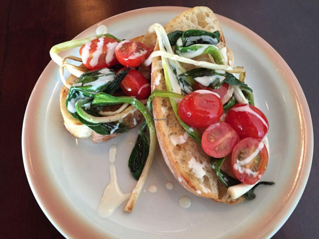 "Photo of Chive Kitchen  by <a href=""/members/profile/EmmaTheVeg"">EmmaTheVeg</a> <br/>bruschetta  <br/> April 13, 2016  - <a href='/contact/abuse/image/68260/144454'>Report</a>"