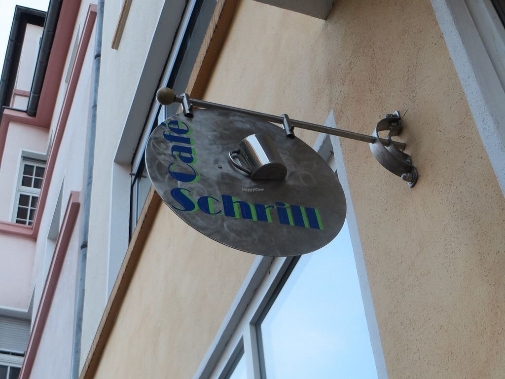 """Photo of Cafe Schrill  by <a href=""""/members/profile/VegiAnna"""">VegiAnna</a> <br/>Café Schrill logo <br/> May 2, 2016  - <a href='/contact/abuse/image/68303/147149'>Report</a>"""