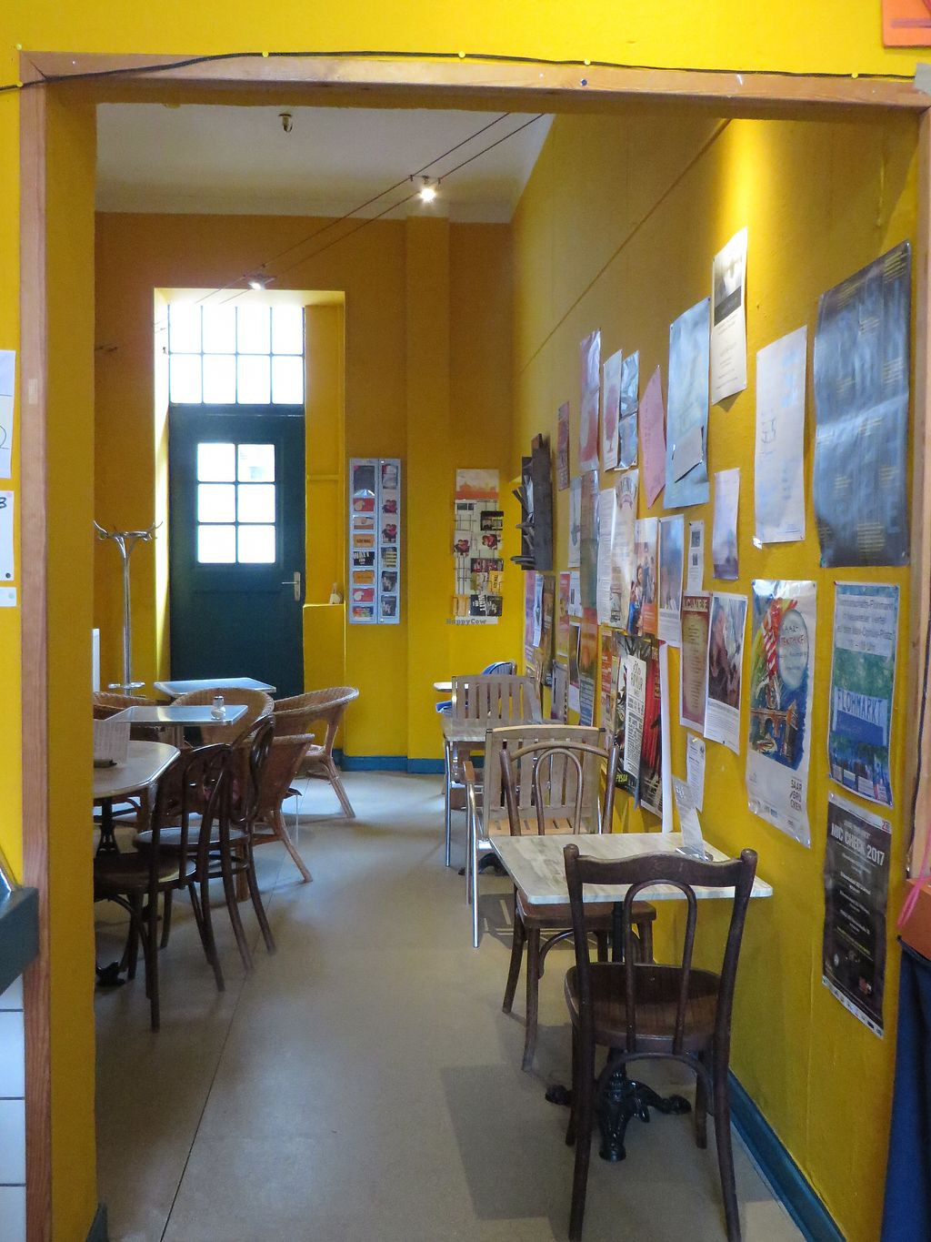 """Photo of Cafe Schrill  by <a href=""""/members/profile/VegiAnna"""">VegiAnna</a> <br/>Inside the café <br/> July 26, 2017  - <a href='/contact/abuse/image/68303/284875'>Report</a>"""