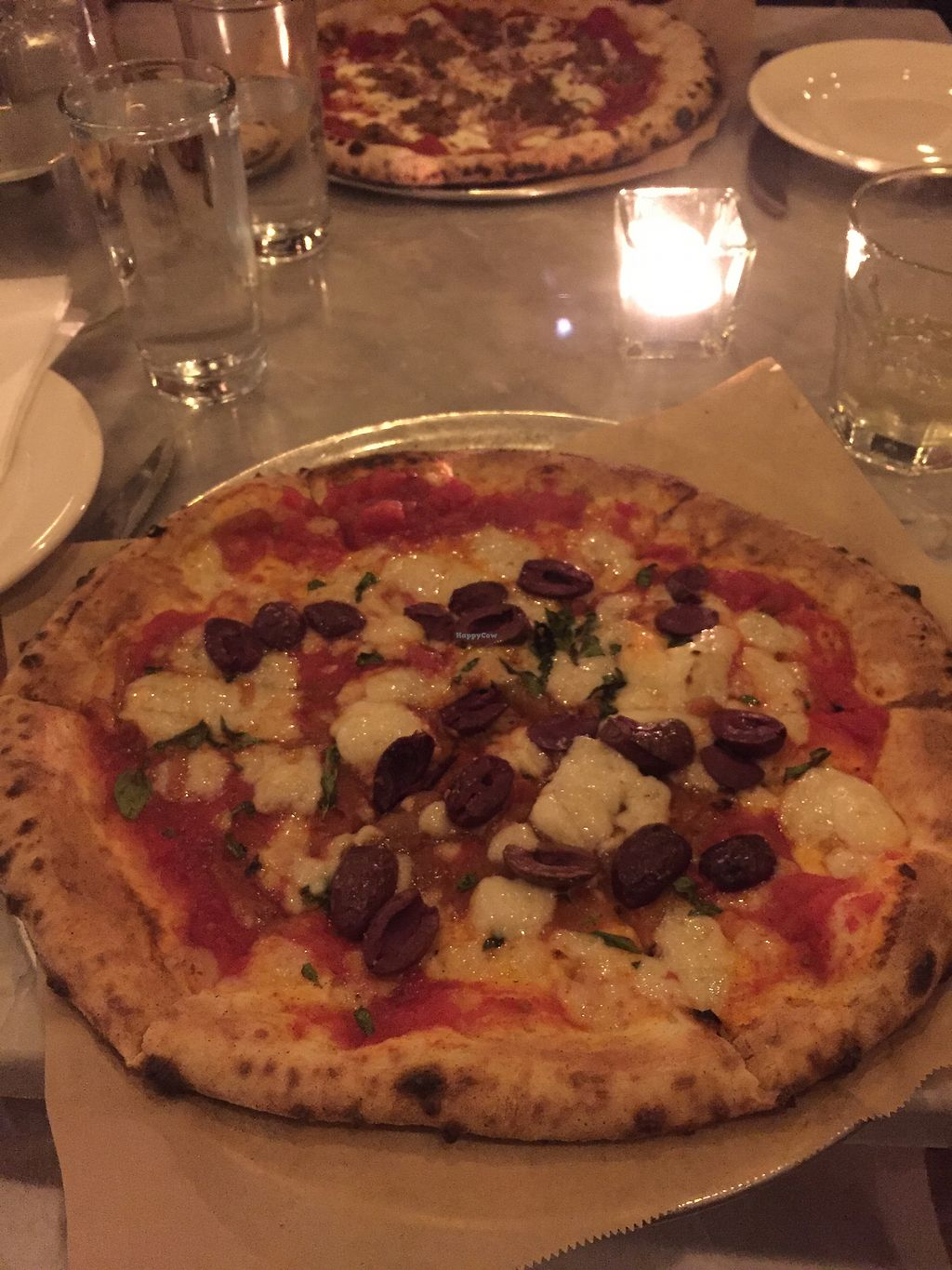 """Photo of Pizza Barbone  by <a href=""""/members/profile/haleylikesspinach"""">haleylikesspinach</a> <br/>Barbone Meatball with vegan cashew cheese, no meatball <br/> August 31, 2017  - <a href='/contact/abuse/image/68305/299248'>Report</a>"""