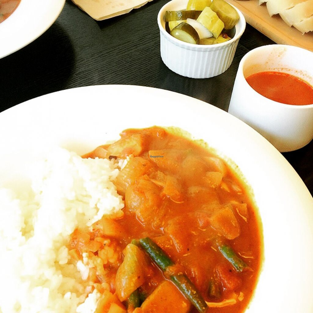 """Photo of CLOSED: Salon Delicious  by <a href=""""/members/profile/ItalianChick"""">ItalianChick</a> <br/>Vegan curry <br/> February 9, 2016  - <a href='/contact/abuse/image/68306/135674'>Report</a>"""