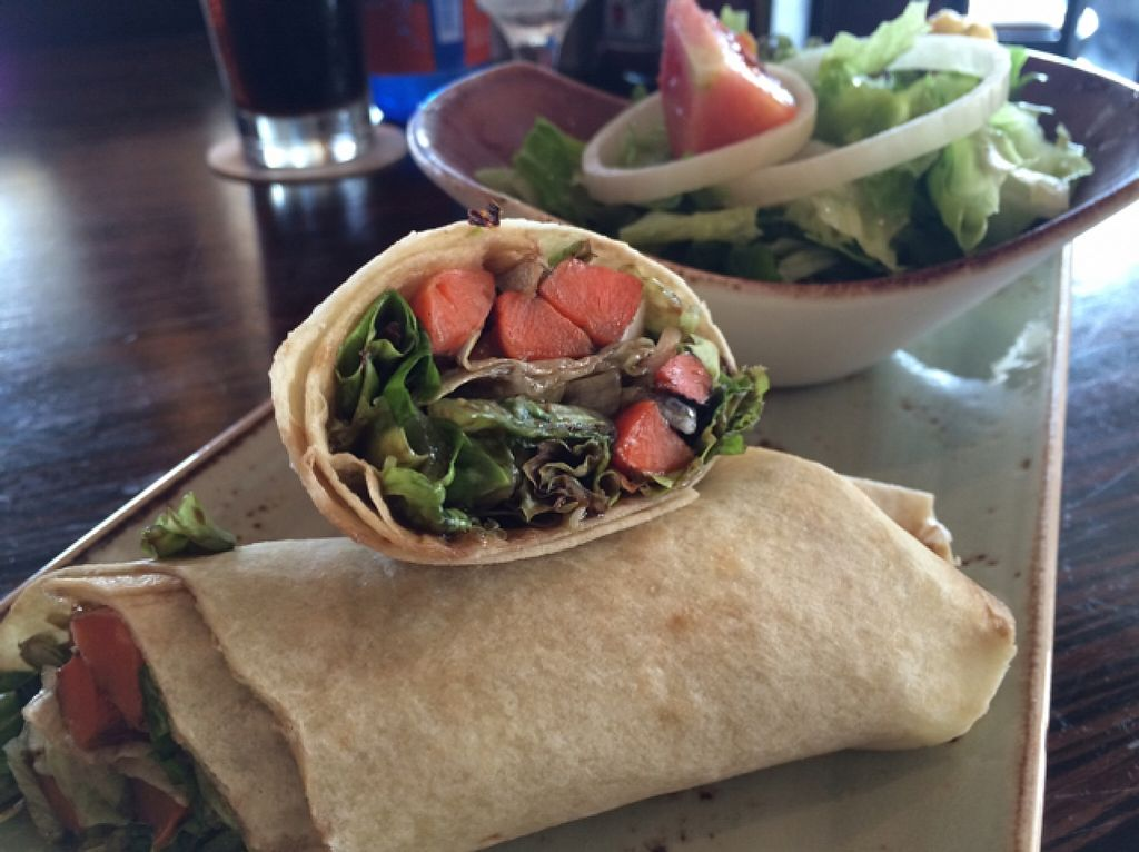 "Photo of Hard Rock Cafe  by <a href=""/members/profile/Siup"">Siup</a> <br/>carrots hummus wrap  <br/> January 14, 2016  - <a href='/contact/abuse/image/68315/132370'>Report</a>"