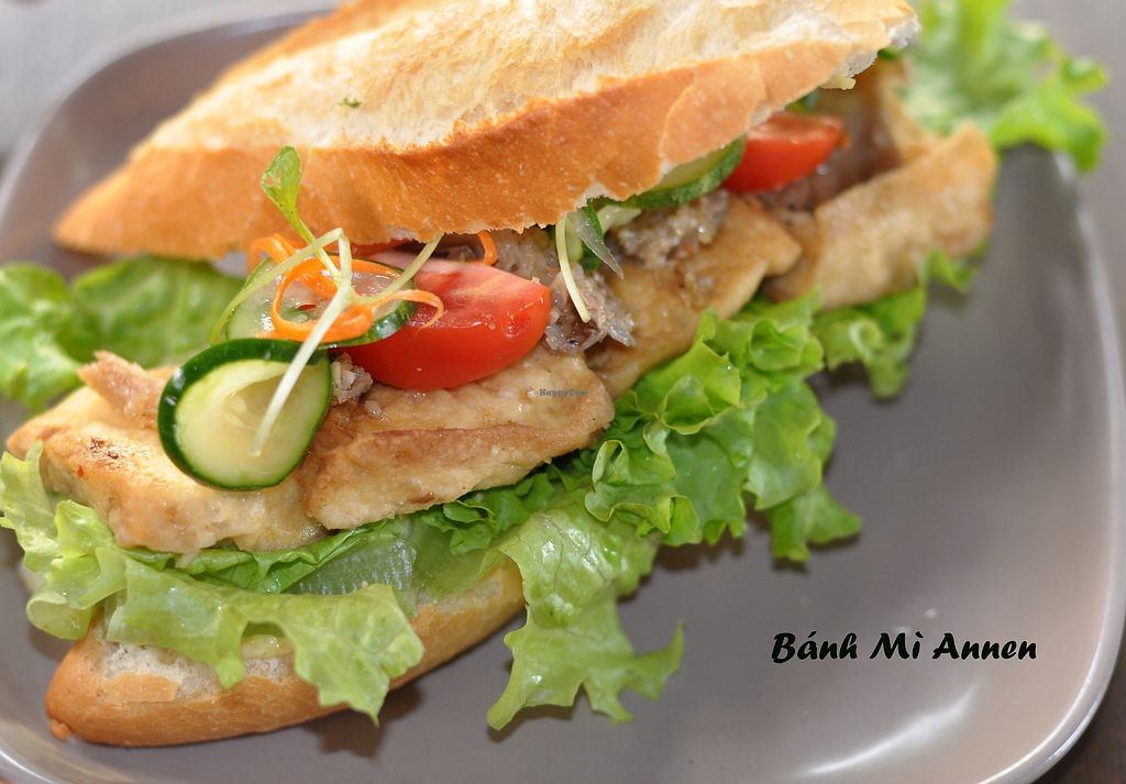 """Photo of Annen Vegetarian & Yoga  by <a href=""""/members/profile/annen"""">annen</a> <br/>Lemongrass tofu and mushroom sandwich <br/> September 19, 2017  - <a href='/contact/abuse/image/68316/305969'>Report</a>"""