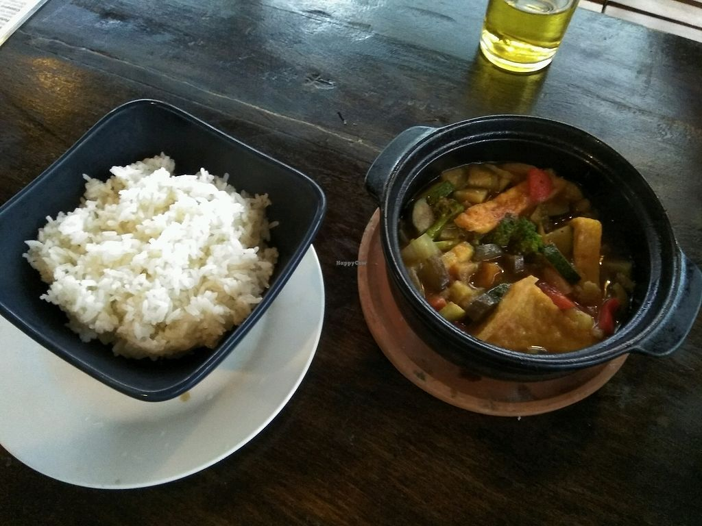 """Photo of Annen Vegetarian & Yoga  by <a href=""""/members/profile/sogrbilja"""">sogrbilja</a> <br/>The Ratatouille with Rice <br/> January 24, 2018  - <a href='/contact/abuse/image/68316/350421'>Report</a>"""