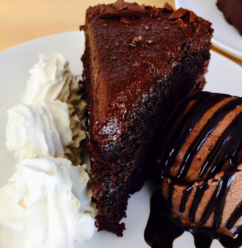 "Photo of Nigella Bistro  by <a href=""/members/profile/Genna4Azimi"">Genna4Azimi</a> <br/>velvet chocolate cake with homemade chocolate ice cream  <br/> August 20, 2017  - <a href='/contact/abuse/image/68318/294706'>Report</a>"