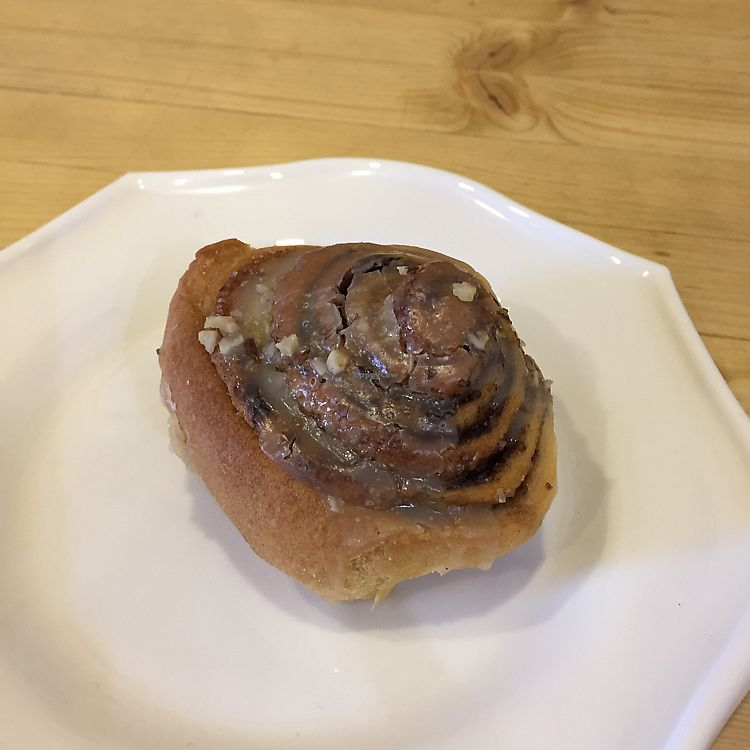 """Photo of CLOSED: Loving Hut   by <a href=""""/members/profile/pjp"""">pjp</a> <br/>cinnamon swirl bun <br/> July 14, 2017  - <a href='/contact/abuse/image/68328/280174'>Report</a>"""