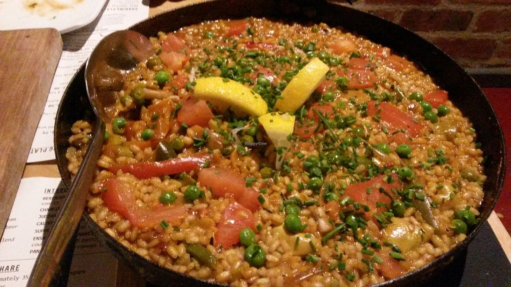 """Photo of Ambiente Tapas  by <a href=""""/members/profile/deadpledge"""">deadpledge</a> <br/>Vegetable Paella <br/> February 8, 2016  - <a href='/contact/abuse/image/68332/135450'>Report</a>"""