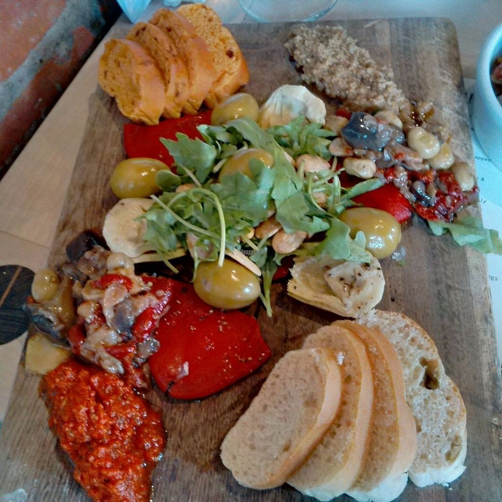 """Photo of Ambiente Tapas  by <a href=""""/members/profile/Veganolive1"""">Veganolive1</a> <br/>Vegetarian platter <br/> September 25, 2016  - <a href='/contact/abuse/image/68332/177876'>Report</a>"""