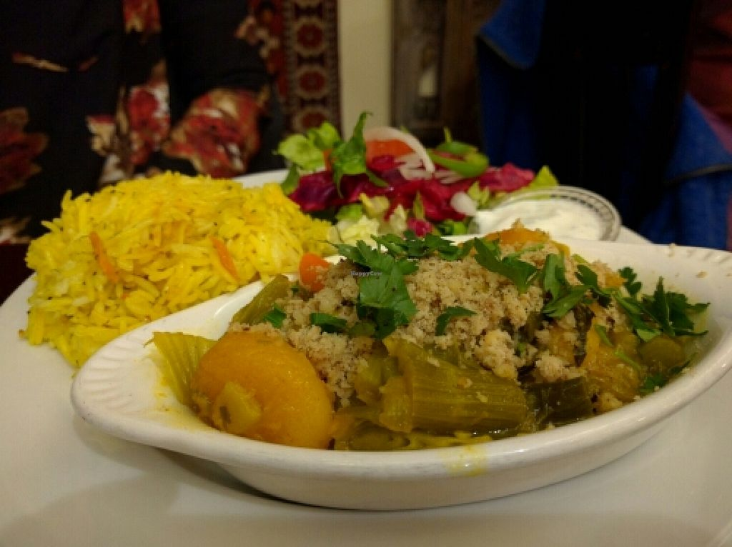 """Photo of Cafe Turko  by <a href=""""/members/profile/The%20Hungry%20Vegan"""">The Hungry Vegan</a> <br/>Mishmish <br/> January 24, 2016  - <a href='/contact/abuse/image/68370/133603'>Report</a>"""