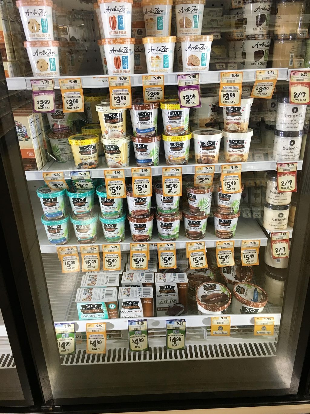 """Photo of Sprouts Farmers Market  by <a href=""""/members/profile/cookiem"""">cookiem</a> <br/>Non-dairy yogurt galore <br/> February 20, 2016  - <a href='/contact/abuse/image/68375/137021'>Report</a>"""