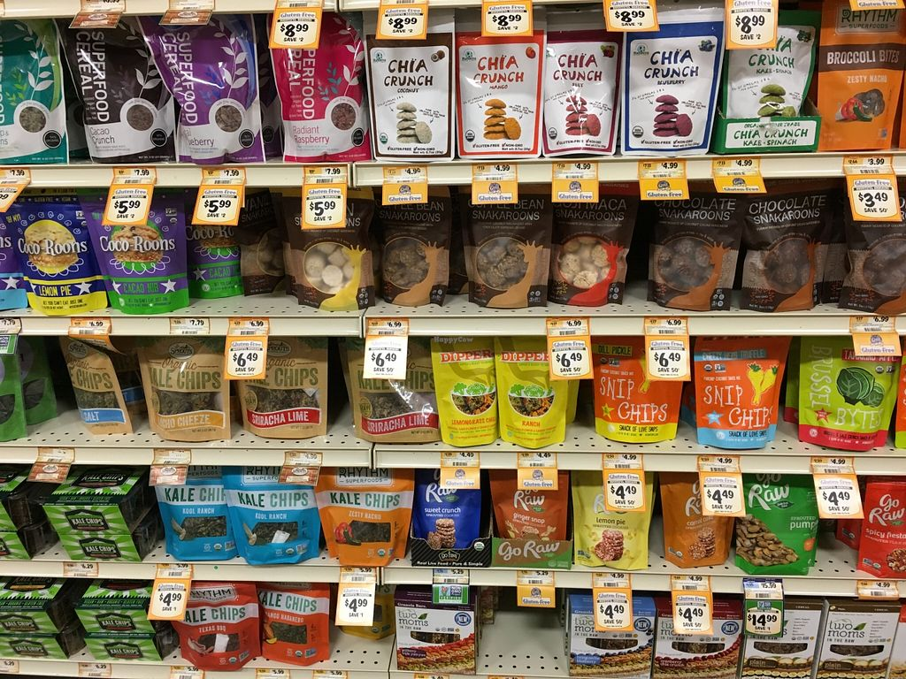 """Photo of Sprouts Farmers Market  by <a href=""""/members/profile/cookiem"""">cookiem</a> <br/>Raw snacks <br/> February 20, 2016  - <a href='/contact/abuse/image/68375/137022'>Report</a>"""