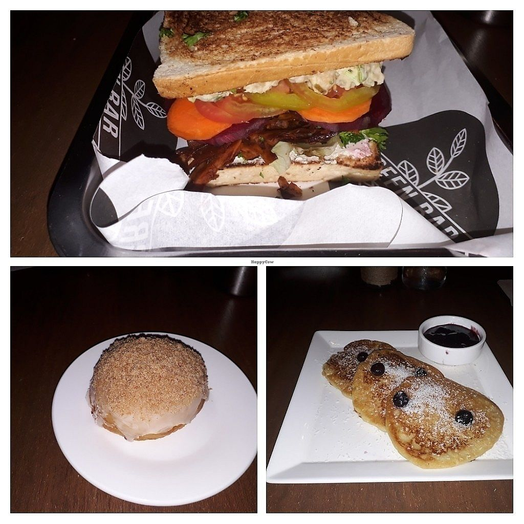 """Photo of Green Bar - Makati  by <a href=""""/members/profile/Roevin46"""">Roevin46</a> <br/>Vegan donut, vegan blt, vegan pancakes.  <br/> November 8, 2017  - <a href='/contact/abuse/image/68402/323249'>Report</a>"""