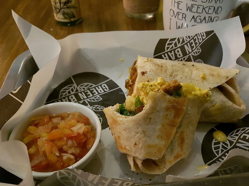 """Photo of Green Bar - Makati  by <a href=""""/members/profile/ShaniShitrit"""">ShaniShitrit</a> <br/>breakfast burrito  <br/> December 23, 2017  - <a href='/contact/abuse/image/68402/338281'>Report</a>"""