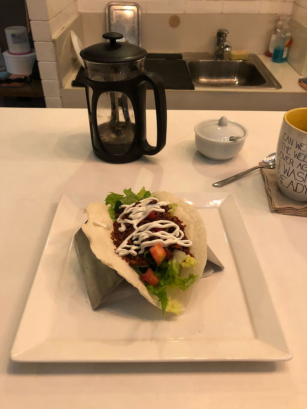 """Photo of Green Bar - Makati  by <a href=""""/members/profile/scotteg"""">scotteg</a> <br/>Longganisa soft taco <br/> January 28, 2018  - <a href='/contact/abuse/image/68402/351736'>Report</a>"""